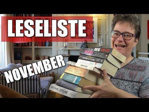 Leseliste November I Gute Bücher I Subbabbau I Thriller I Romane