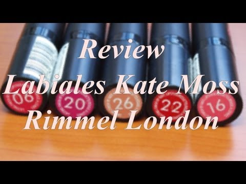 Labiales Kate Moss by Rimmel