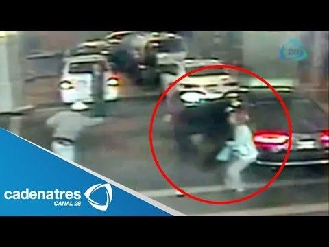 VIDEO del asalto en hotel de Paseo de la Reforma / Asaltan en exclusivo hotel