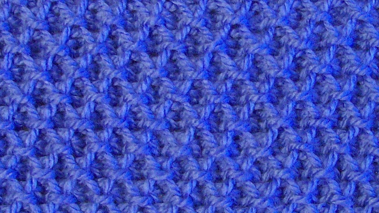 Видеоурок вязания рельефного узора