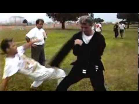 Real Aikido Street Fighting.  Real Street Fight Aikido Skills. Image 1