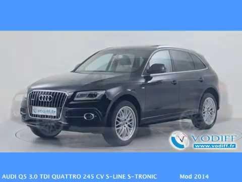 VODIFF : AUDI OCCASION ALSACE : AUDI Q5 3 0 TDI QUATTRO 245 CV S LINE S TRONIC Mod 2014