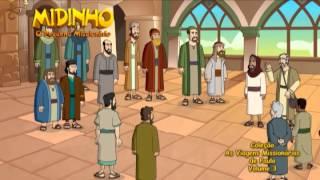 Midinho, o Pequeno Missionário - As Viagens Missionárias de Paulo (Vol.3)