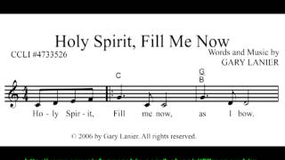 HOLY SPIRIT FILL ME NOW | The Lead Sheet Review