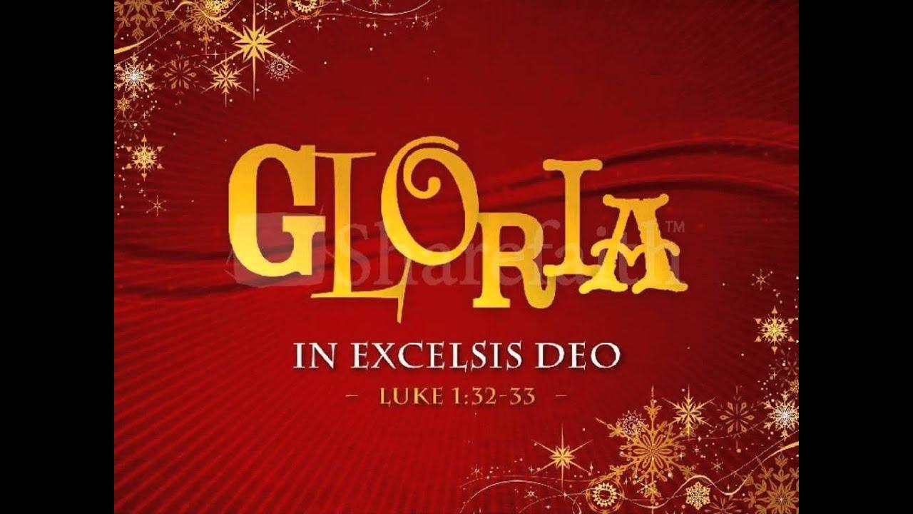 Chants De Lourdes Gloria In Excelsis Deo YouTube
