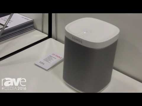 CEDIA 2016: KNX Standard Shows Jung Sonos-Gateway for Home Audio Control