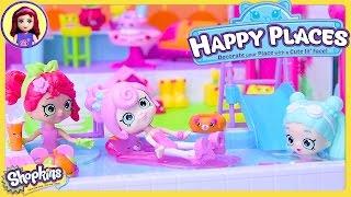 Shopkins Happy Places Pool Sun Deck Plant Patio Garden Petkins Setup Review Kids Toys