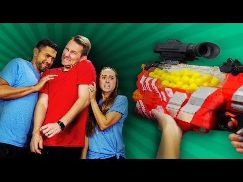 NERF Don't Shoot Your Teammate Challenge!