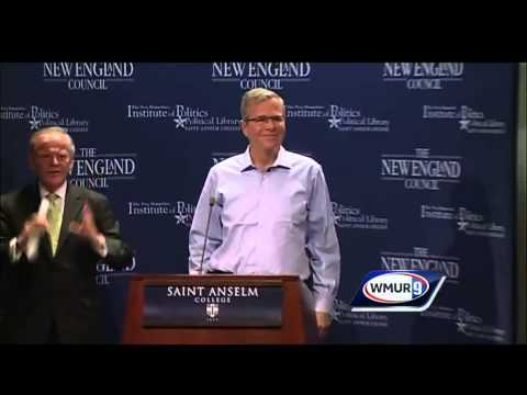 Raw video: Jeb Bush speaks at Politics and Eggs