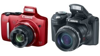 Canon SX160 and SX500