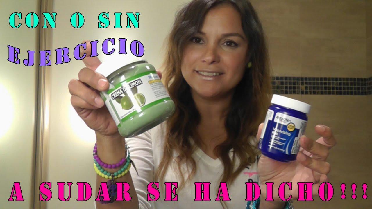 Crema Para Sudar Sin Ejercicio - NinaTips Mty - YouTube