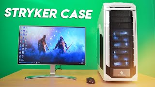 Cooler Master Storm Stryker Review - Full Tower Gaming Case / Cabinet Unboxing (White)