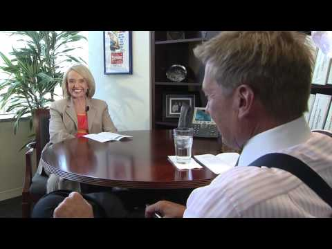 Former Arizona Governor Jan Brewer talks about Valley Bar's