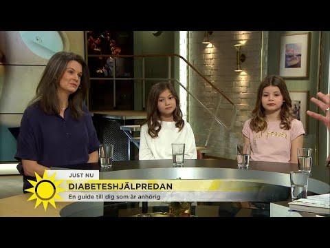"""11-åriga Lisen om att leva med diabetes: """"Det kan vara lite jobbigt ibland - jag måste klara av"""