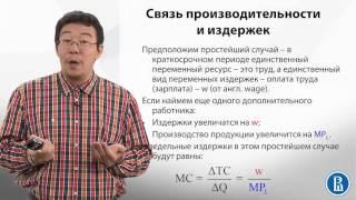 5.2  Предельные продукт, издержки и полезность