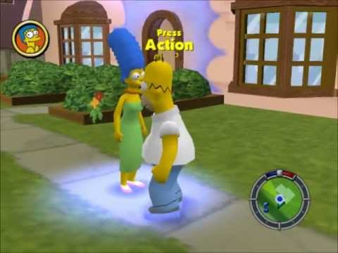 Lets Play Simpsons Hit and Run Part 1