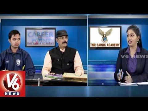 Police Recruitment | Preparation Tips | TNR Sainik Academy | Career Point | V6 News