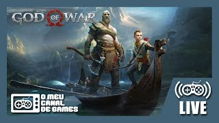 [Live] God of War (PS4 Pro) - Até Zerar AO VIVO #2