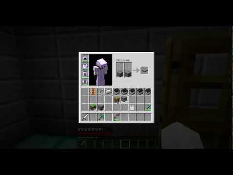 Майнкрафт как сделать кнопку для двери