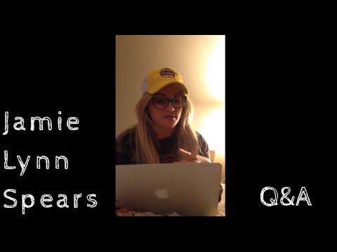 Jamie Lynn Spears Q&A