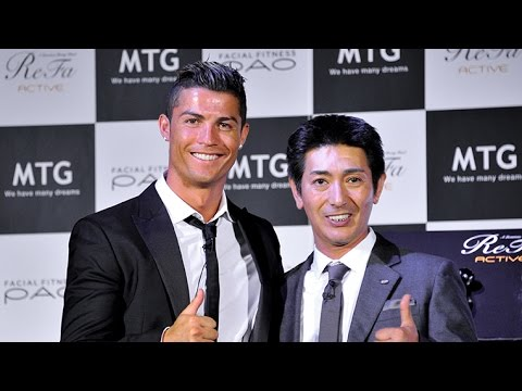 MTG x Cristiano Ronaldo Athletic Beauty Project press conference
