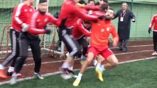 Ortaköy-soğuksu maç öncesi olay
