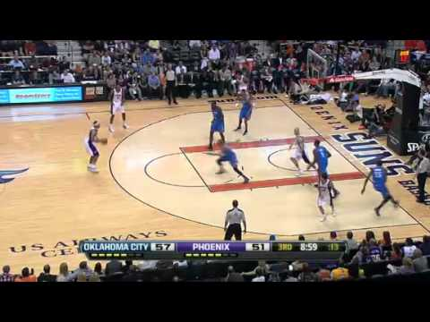 NBA Oklahoma City Thunder Vs Phoenix Suns Highlights April 18, 2012 Game Recap
