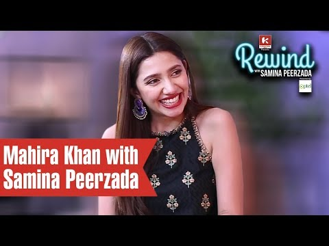 Mahira Khan on Rewind with Samina Peerzada | Episode 2 | Humsafar | Verna | Being in Love | Struggle thumbnail
