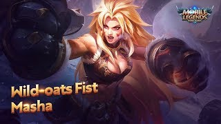 New Hero | Wild-oats Fist | Masha | Mobile Legends: Bang Bang!