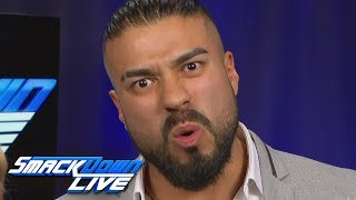 Andrade isn't afraid of The Demon: SmackDown LIVE, May 28, 2019