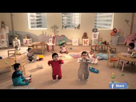 Kit Kat Dancing Babies|ad India 2013 (full Version) video