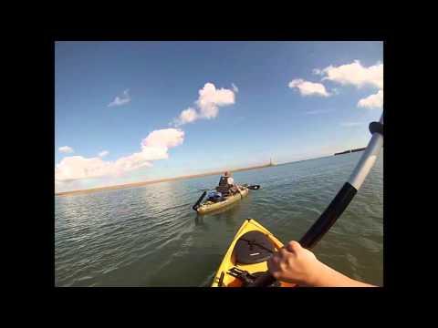 Ocean & Native kayak review & Homemade Skeg test