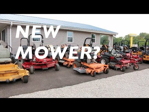 Lawn Care Equipment Update