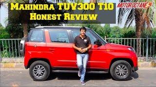Mahindra TUV300 T10 Review   MotorOctane