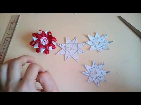 Шаблон звездочка для бантиков своими руками 63