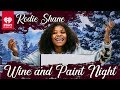 Kodie Shane Paints A Beautiful Cabin In The Woods | Wine And Paint Night