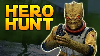 HERO HUNT - BEST OR WORST GAME MODE? - Star Wars Battlefront