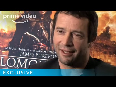 Handsome James Purefoy gets fighting fit Video