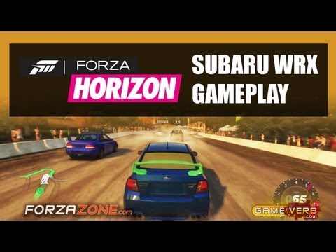 Forza Horizon Subaru WRX STI Gameplay Video Off Road Race - Walkthrough Part 1