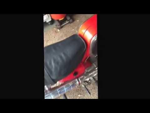 1963 Honda 50 original condition. Just rebuilt carb and purring.