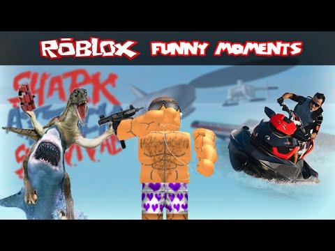 Roblox: Shark Attack Survival- No Escape (Roblox Funny Moments)