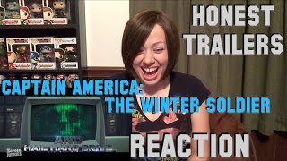 Honest Trailers - Captain America: The Winter Soldier Reaction