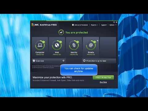 AVG AntiVirus FREE - Quick overview