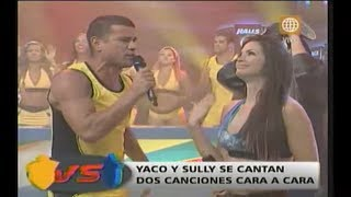 Esto Es Guerra: Yaco Y Sully Se 'cantaron' Sus Verdades - 26/03/2013