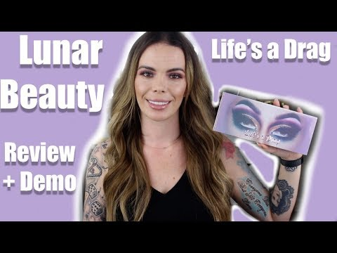 Lunar Beauty   Life's A Drag Review with Demo