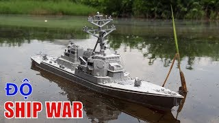 Become a model warship warship remote control - Love Creation