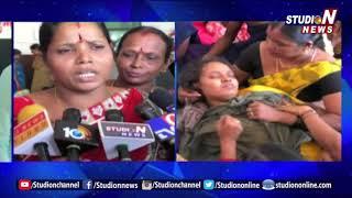 TTD Contract Employees Protest At Vishnu House   Contractor Bhaskar Naidu Assaults