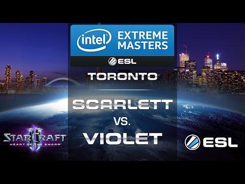 Scarlett vs. ViOlet - (ZvZ) - IEM Toronto 2014 NA Qualifier - Semifinal - StarCraft 2