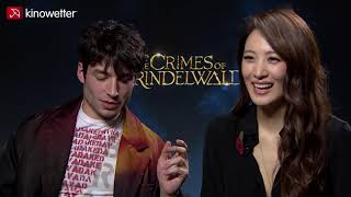 Interview Ezra Miller & Claudia Kim  FANTASTIC BEASTS: THE CRIMES OF GRINDELWALD