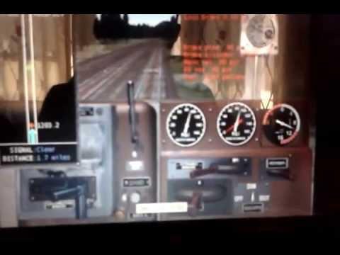 microsft train simulator KTMB 23class